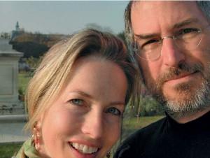 """Toto je zřejmě Stevovo selfie"""" sLaurene pořízené vPaříži na dovolené vroce 2003."""
